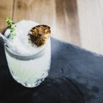 TONKI KONG THYMIAN FIZZ – Cuisine Style Cocktail